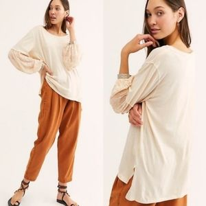 NEW! We the Free Jade long sleeve slouchy top